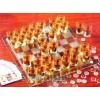 Шахматы со стопками шашки карты