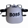 Каска с подставкой под банки BOSS