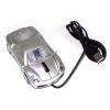 Мышь для ПК в виде Автомобиля серебро А30