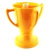 Кубок 4 бокала желтый
