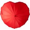 Зонт Сердце красный УЦЕНЕННЫЙ ТОВАР