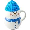 Кружка-снеговик Растопи лед синий