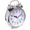 Часы Будильник ГИГАНТ никелированные с подсветкой УЦЕНЕННЫЙ ТОВАР