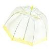 Зонт прозрачный купол желтый УЦЕНЕННЫЙ ТОВАР