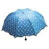 Зонт хамелеон Капельки синий