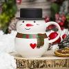 Кружка-снеговик В шляпе 3
