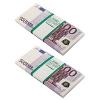 Набор конфетти 2 шт Забавная Пачка 500 евро