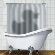 Занавеска в душ Утка 180*180cm 1250рублей. Есть в наличии.