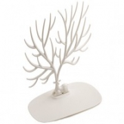 Кольцедержатель Дерево с оленем большой белый. 495рублей. Есть в наличии.