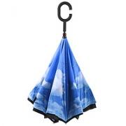 Зонт наоборот Неваляшка Небо 1250рублей. Есть в наличии.